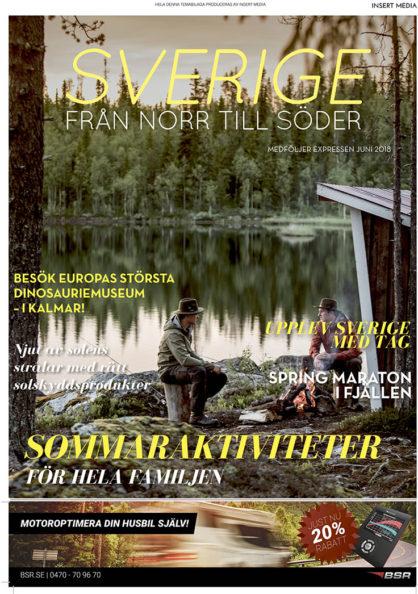 Sverige från norr till söder